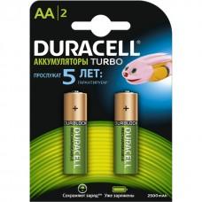 Аккумулятор Duracell  AA (2400 mAh) NiMH HR6-2BL предзаряженные