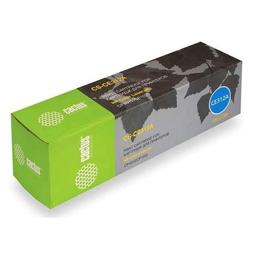 Картридж CE312A HP Color LaserJet CP1012 Pro/CP1025 Pro Yellow (CACTUS) 1000 стр.