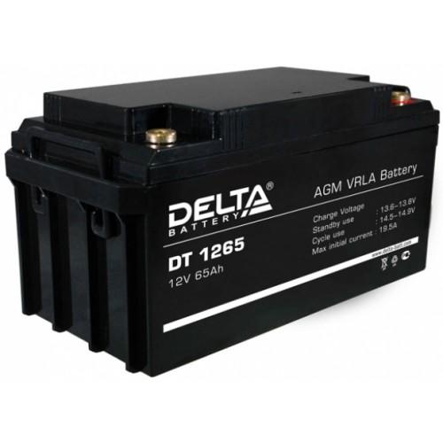 Аккумулятор DELTA DT 1265 12v 65Ah (DT1265)