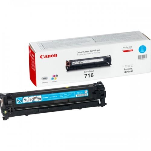 Картридж Canon LBP-5050/5050n (Cartridge 716C) 1500 стр. Cyan