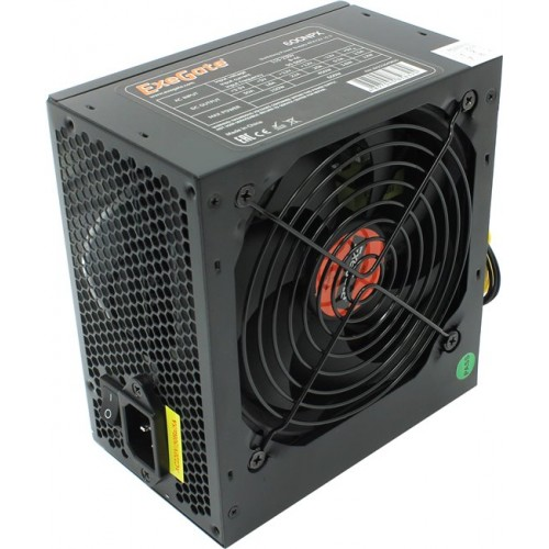 Блок питания 600W ATX Exegate 600NPX black (без сетевого шнура)
