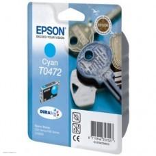 Картридж Epson Stylus C63/C65/CX3500 Cyan (Hi-black) new, C13T04724A10
