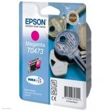 Картридж Epson Stylus C63/C65/CX3500 Magenta (Hi-black) new, C13T04734A10 250 стр.
