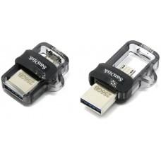 Флеш-накопитель USB 3.0 Flash Drive 256Gb Sandisk Dual Drive