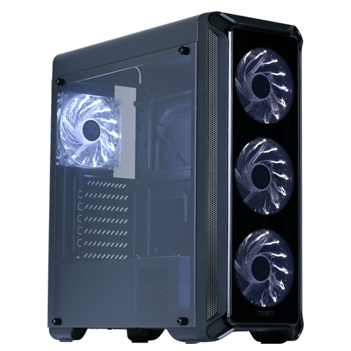 Корпус Miditower Zalman i3 Black