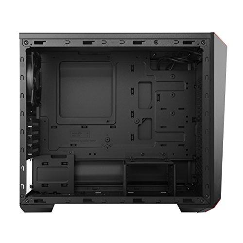 Корпус Cooler Master MasterBox Lite 3.1 TG  Black/Red (MCW-L3S3-KGNN-00)