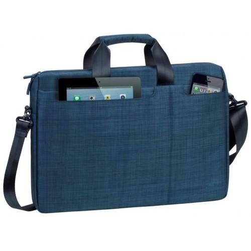 "Сумка для ноутбука Riva 8335 blue 15.6"" полиэстер"