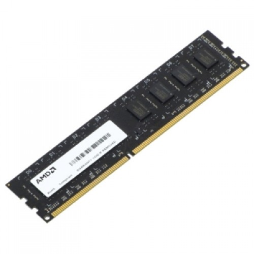 Модуль DIMM DDR3 SDRAM 4GB AMD Radeon R3 Value Series Black (R334G1339U1S-U)