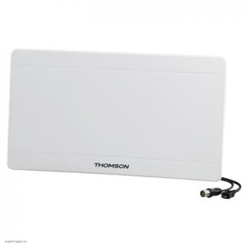 Антенна телевизионная Thomson ANT1706 (43дБ/активная/каб.:1.4м) белый