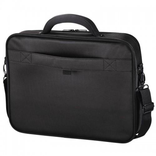 """Сумка для ноутбука HAMA Miami Life черный 17.3"""" полиэстер, 45x41x10см (101219)"""