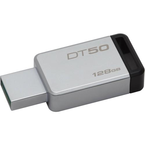 Накопитель USB 3.1 128Gb Kingston DataTraveler 50