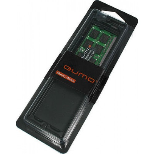 Модуль DIMM DDR3 SDRAM 8192 Mb (PC3-12800/1600MHz/CL11/OEM) QUMO (QUM3U-8G1600C11R)