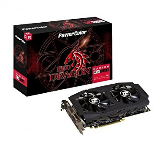 Видеокарта AMD Radeon RX 580 PowerColor 4GBD5-DMV2