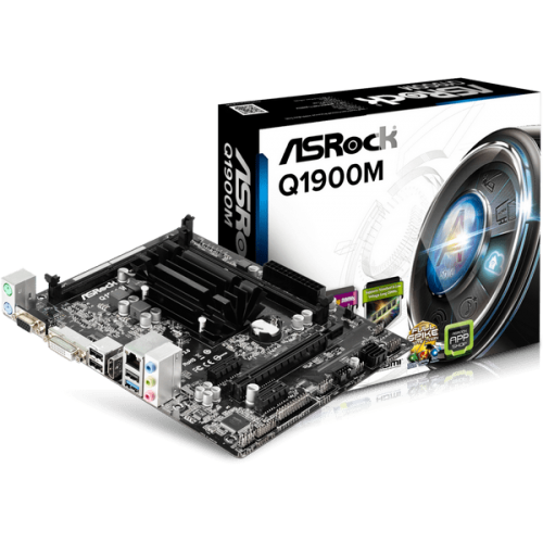 Плата ASRock Q1900M