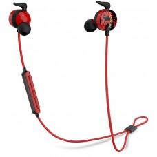 Беспроводные наушники с микрофоном Bluedio Ai BT 4.2, красн., вставные