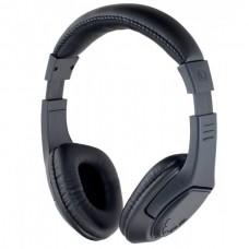 Наушники Беспроводные накладные с мик. Perfeo RIDERS черные с FM/MP3