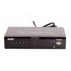 Цифровой эфирный ресивер Эфир HD-225 black (металлический корпус)
