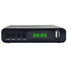 Цифровой эфирный Ресивер HYUNDAI H-DVB500 DVB-T2 black
