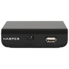 Цифровой эфирный ресивер HARPER HDT2-1030 DVB-T2 black