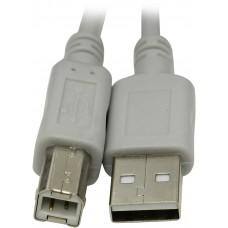 Кабель USB-USB AB v2.0, 1.5m для принтеров