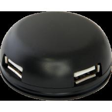 Концентратор USB 2.0 DEFENDER QUADRO light, 4 ports,ext, rtl