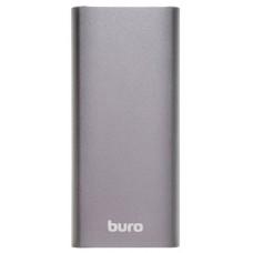 Аккумулятор Buro RB-10000-QC3.0-I&O Fast Charging, 10000mAh, 2x(5V,9V,12V), 1x3A, LiPol, USB