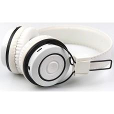 Беспроводные наушники с микрофоном Dialog HS-19BT, Bluetooth 4.0, белый, накладные