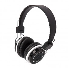Беспроводные наушники с микрофоном Dialog HS-19BT, Bluetooth 4.0, черн., накладные