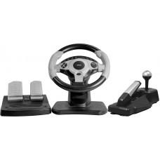 Руль с педалями Dialog RACE WINNER I GW-300, вибро, USB