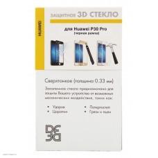 Стекло DF fullscreen 3D для Huawei P30 Pro (hwColor-94) black