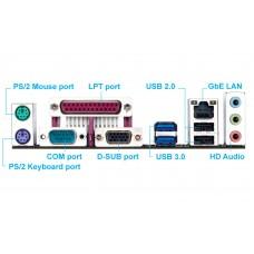 Материнская плата Gigabyte GA-AM1M-S2P S AM1 (FS1b)
