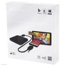 Внешний DVD±R/RW LG GP95NB70, slim, USB2.0, черный, retail
