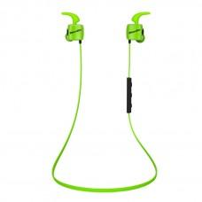 Беспроводные наушники с микрофоном Bluedio TE Standart ver., BT 4.1, зелен., вставные