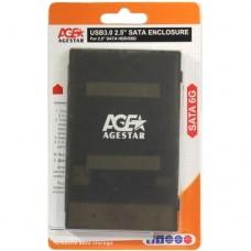 Контейнер внешний AgeStar 3UBCP1-6G черный