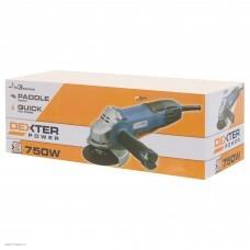 Углошлифовальная машина (болгарка) Dexter 750 Вт 115 мм