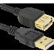 Кабель USB Am ->Af (5,0M)