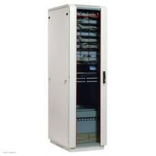Шкаф телекоммуникационный напольный 33U (600x800) дверь стекло (3 места)