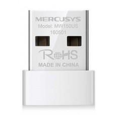 Беспроводной адаптер Mercusys MW150US, 802.11n, до 150Mb/c, mini, USB
