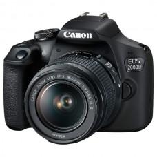 Фотоаппарат зеркальный CANON EOS 2000D kit EF-S 18-55 DC III
