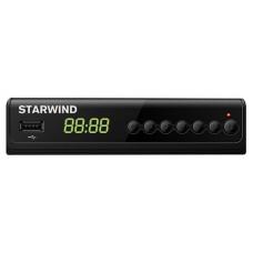 Ресивер DVB-T2 STARWIND CT-280,  черный