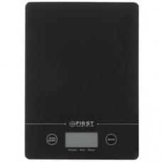 Кухонные весы First FA-6400-BA черный