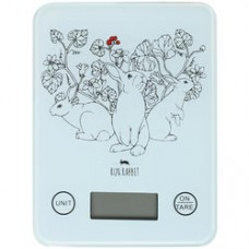 Кухонные весы RUN RABBIT RR-4k белый