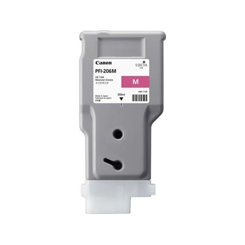 Картридж-чернильница PFI-206 M Canon iPF6400/iPF6400S/iPF6400SE/iPF6450 Magenta 300мл (5305B001)