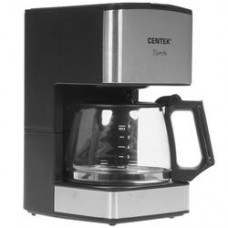 Кофеварка капельная Centek CT-1144 серебристый