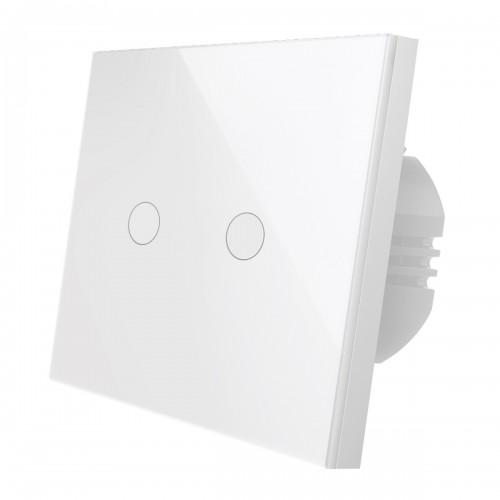 Выключатель двухканальный Wi-Fi  RUBETEK RE-3317
