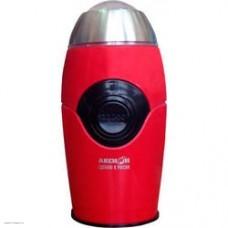 Кофемолка электрическая Аксион КМ22 красный