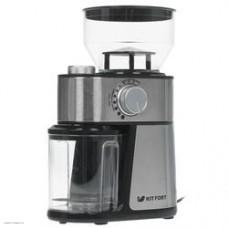 Кофемолка электрическая Kitfort КТ-717 серебристый