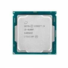Процессор Intel Original Core i3 9100F Soc-1151v2 (CM8068403377321S RF7W) (3.6GHz) OEM