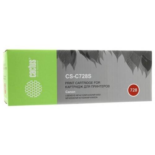 Картридж Canon i-SENSYS MF4410/4430/4450 (Cactus Cartridge 728) 2100 стр.