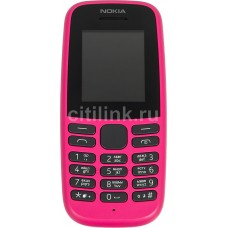 Мобильный телефон NOKIA 105 Dual SIM (2019) TA-1174,  розовый